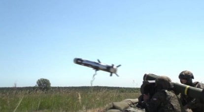 In Poland, they practiced the destruction of conditional Russian tanks using the Javelin ATGM