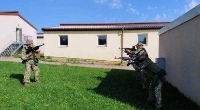 在巴伐利亚进行演习期间,德国使用者对将乌克兰伞兵引入美国军团感到困惑