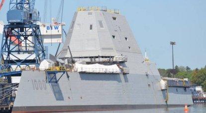 Aux États-Unis, les travaux sur le destructeur de nouvelle génération DDG-1000 Zumwalt sont en cours d'achèvement.