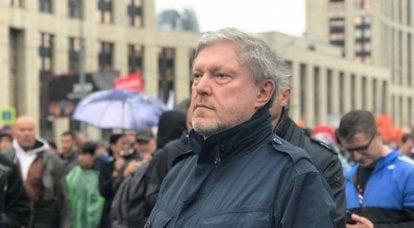 "Yavlinsky acusó al Kremlin de ""propaganda de guerra"""