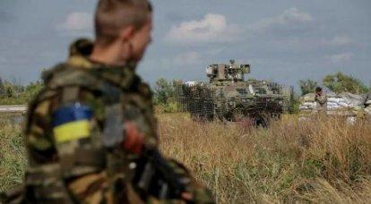 """Basurinとリサイクル """"pravosekov""""についてのウクライナの軍の役員"""