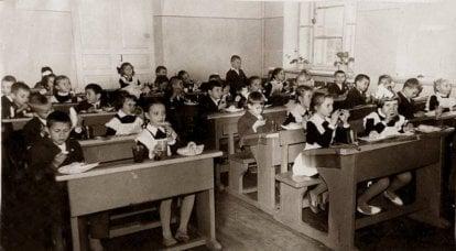 """""""멋진 학년""""-소련 학교의 추억"""