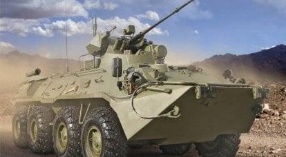 Risultati della produzione di BTR-82A (M)