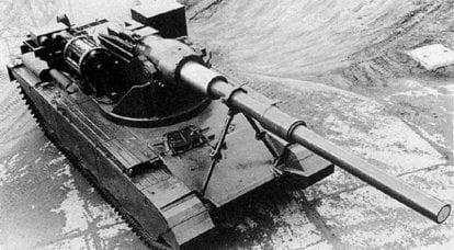 英国坦克歼击车FV4004和FV4005