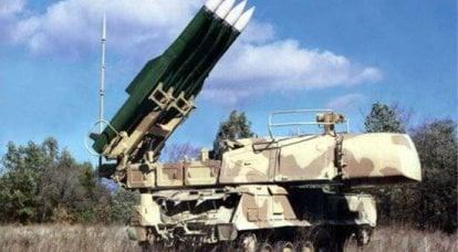伏尔加河,乌拉尔和西伯利亚的高射炮手首次对Buk-M2防空系统进行实弹射击