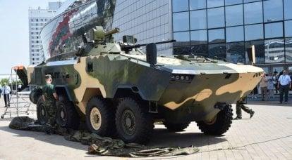 VolatV-2。 ベラルーシ軍のための現代の装甲兵員輸送車