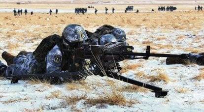 """중국 해병대 : 미국인 """"동료""""와 대면 할 가능성"""