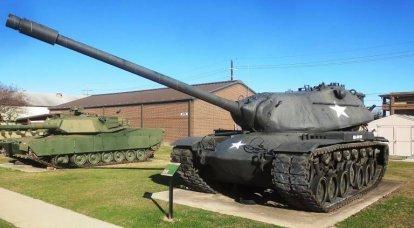 M103。 アメリカ最後の重戦車
