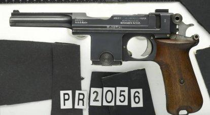 """Bergmann-Bayard"" - uma pistola no estilo Mauser"