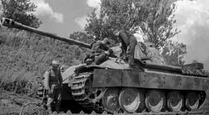 Tank Pz.Kpfw.V Panther. Piccole quantità e grandi problemi
