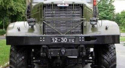 KrAZ-214。 ヤロスラブリ出身のウクライナ人兵士