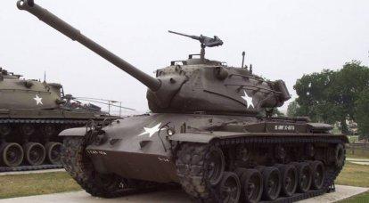 M47 Patton II: dentro de un híbrido americano