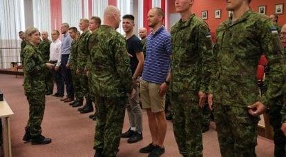 """""""Warum sind sie zufällig angezogen?"""" Westliche Benutzer überrascht vom estnischen System der Reservisten"""
