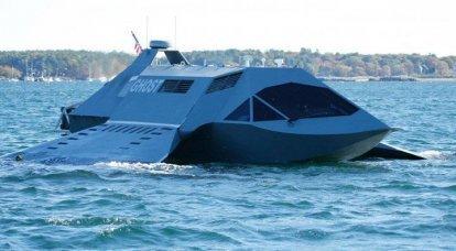 アメリカ人はスーパーキャビテーションボートを装備しています