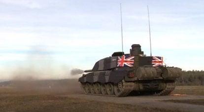 """""""NATO zırhlı kuvvetlerine liderlik edecek"""": yeni İngiliz MBT'nin savaş alanındaki yeri"""