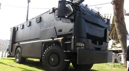 Plasan公司展示了第一辆装甲车Guarder