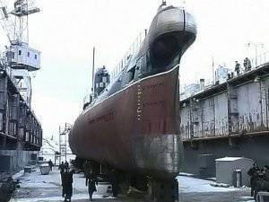 セヴァストポリでは、唯一のウクライナの潜水艦が復活した