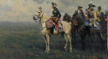 Corazzieri in battaglie e campagne