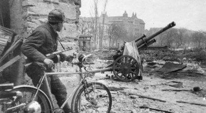 Kızıl Ordu'da hizmette olan 105 mm'lik Alman obüsleri ele geçirildi