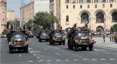 아르메니아의 방공 시스템의 현재 상태