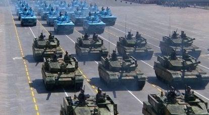 中国军队的优化。 解放军改革成果