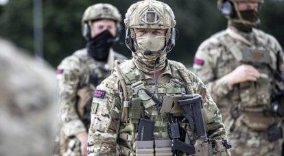英国特种部队挑战俄罗斯和中国