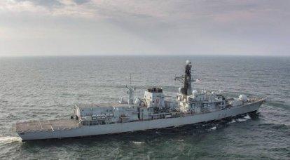 En la prensa estadounidense: Habrá dos buques de guerra británicos en el Mar Negro, y habrá docenas de buques de guerra rusos.
