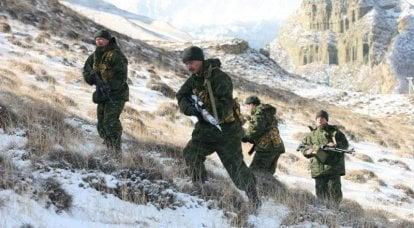 山地机动步枪特种部队