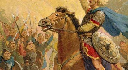 Wie die Angelsachsen die Normannen bekämpften