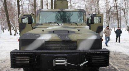 乌克兰已完成装甲车Kozak的试验