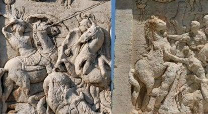Catafractos de la antigüedad. Sillas de montar, lanzas, embestida. Y sin estribos