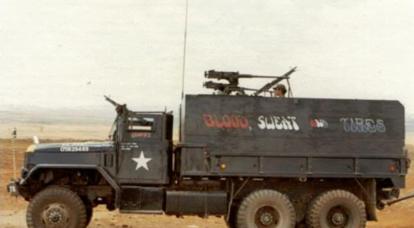 枪的卡车。 部分1