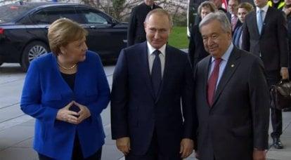 Europäische Reporter nennen Putin den einzigen Gewinner nach dem Treffen in Berlin