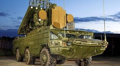 """俄罗斯联邦的防空系统。 SAM"""" Osa""""和SAM"""" Tor"""""""