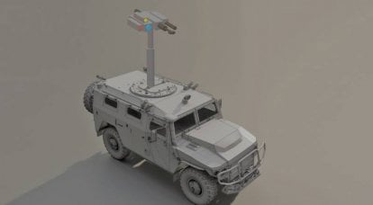 "Car ""Tiger Sniper"": remotely controlled modules of high-precision weapons for ground combat equipment"
