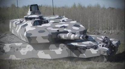 Gros calibre: les Européens défient un char russe à la base d'Armata