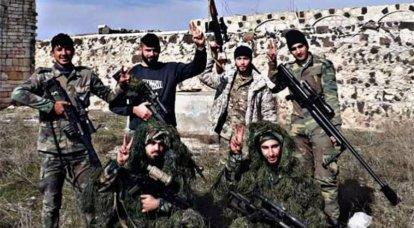 시리아 군, Idlib의 터키계 무장 세력의 또 다른 공격