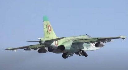 """""""Après réparation, le Su-25 répond aux normes de l'OTAN"""": le ministre bulgare de la Défense était à la barre de l'avion d'attaque"""