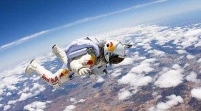 Esoscheletro per saltare dallo spazio