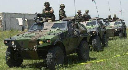 俄罗斯和法国正在建立一个装甲车的联合项目