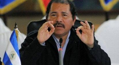 普京关注尼加拉瓜