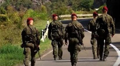 """""""Não há princípio de neutralidade"""": Belgrado fala sobre a transferência de unidades polonesas e americanas da KFOR para o norte de Kosovo"""