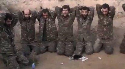"""""""El heroísmo ha desaparecido en alguna parte"""": se están discutiendo en línea imágenes de Azerbaiyán con prisioneros de guerra armenios"""