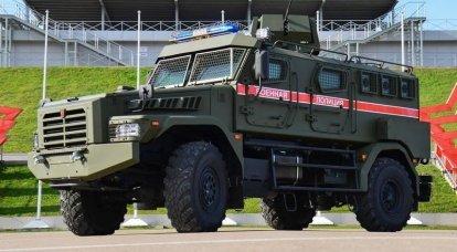 """Askeri polise ilk grup """"Devriye"""" zırhlı araç teslim edildi"""
