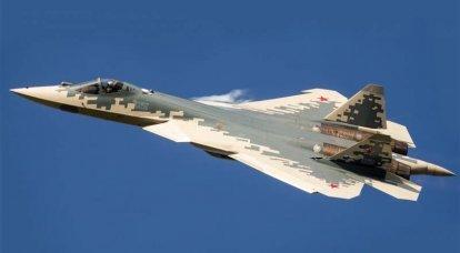 Na imprensa dos EUA: O desenvolvimento da aviação pode não estar relacionado ao Su-57 e F-35