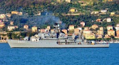 Des navires du groupe permanent d'action contre les mines de l'OTAN SNMCMG2 sont entrés en mer Noire