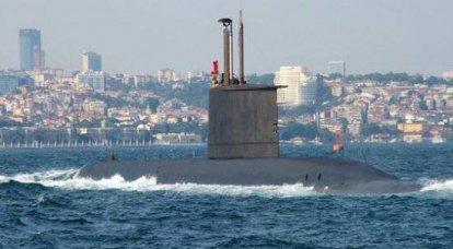 トルコの潜水艦艦隊 - 黒海の深さの分割されていない領主