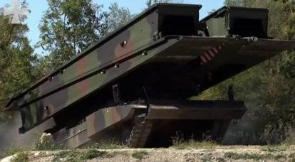 """La Bundeswehr a l'intention de remplacer """"Beavers"""" sur """"Iguan"""""""