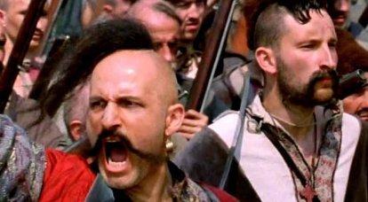 コサックがイスタンブールの壁でトルコ人の主将をどのように捕獲したか