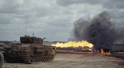 Panzer-Freak-Show: Flammenwerfer-Panzer